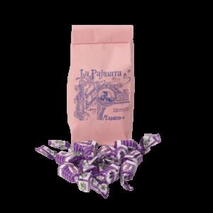 Caramelos de licor de violeta- Bombonería La Pajarita