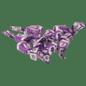 Caramelos violetas licor