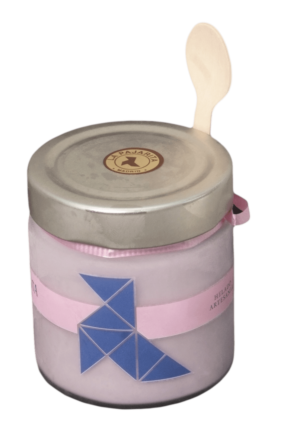 helado artesanal violeta