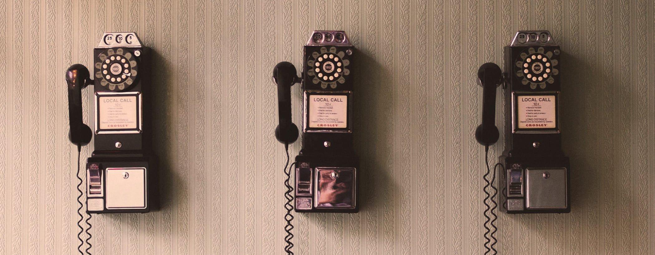 telefono vintage contacto