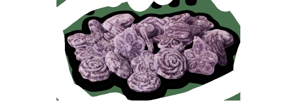 violetas caramelo
